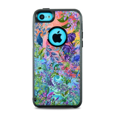 OtterBox Commuter iPhone 5c Case Skin - Fantasy Garden