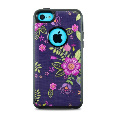 OtterBox Commuter iPhone 5c Case Skin - Folk Floral