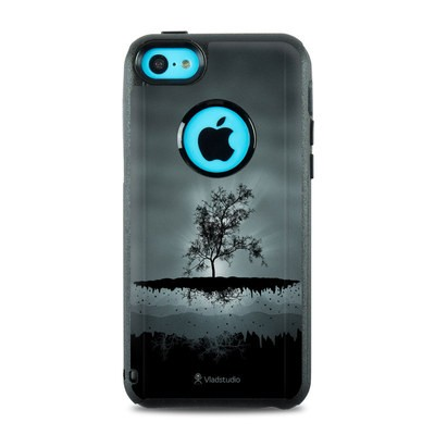 OtterBox Commuter iPhone 5c Case Skin - Flying Tree Black