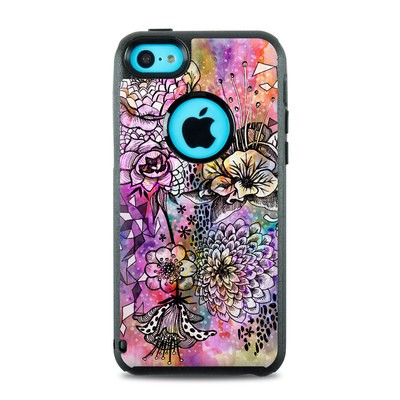 OtterBox Commuter iPhone 5c Case Skin - Hot House Flowers