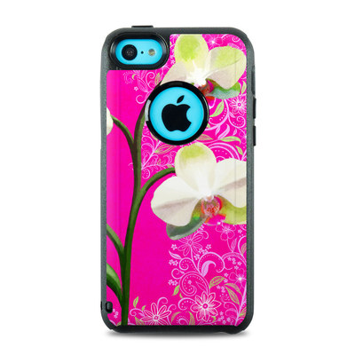 OtterBox Commuter iPhone 5c Case Skin - Hot Pink Pop