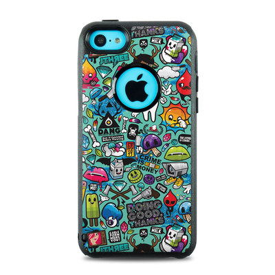OtterBox Commuter iPhone 5c Case Skin - Jewel Thief