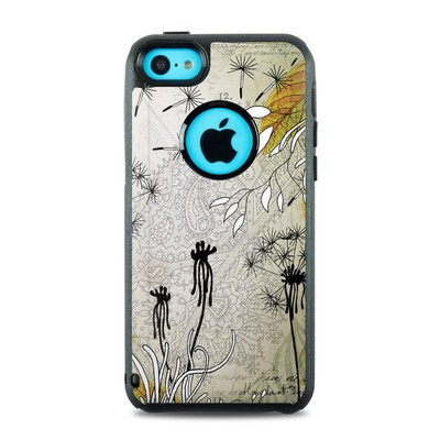 OtterBox Commuter iPhone 5c Case Skin - Little Dandelion