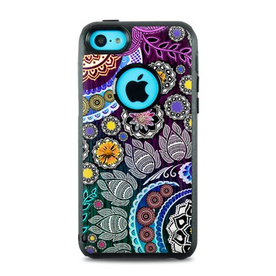 OtterBox Commuter iPhone 5c Case Skin - Mehndi Garden