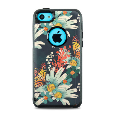OtterBox Commuter iPhone 5c Case Skin - Monarch Grove