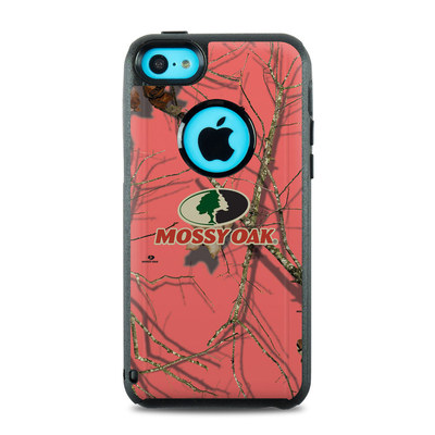 OtterBox Commuter iPhone 5c Case Skin - Break-Up Lifestyles Salmon