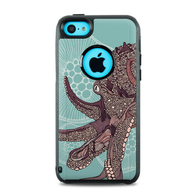 OtterBox Commuter iPhone 5c Case Skin - Octopus Bloom