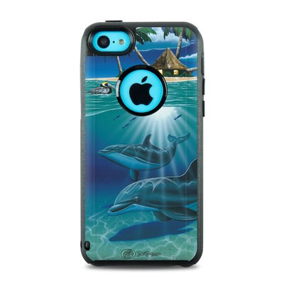 OtterBox Commuter iPhone 5c Case Skin - Ocean Serenity