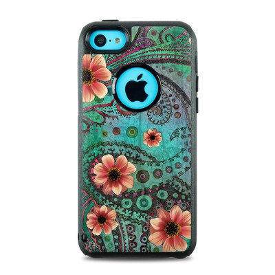 OtterBox Commuter iPhone 5c Case Skin - Paisley Paradise