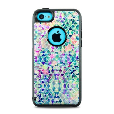 OtterBox Commuter iPhone 5c Case Skin - Pastel Triangle
