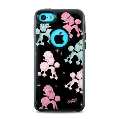 OtterBox Commuter iPhone 5c Case Skin - Poodlerama