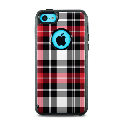OtterBox Commuter iPhone 5c Case Skin - Red Plaid