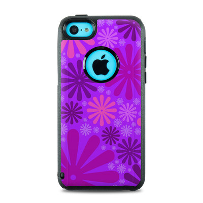 OtterBox Commuter iPhone 5c Case Skin - Purple Punch
