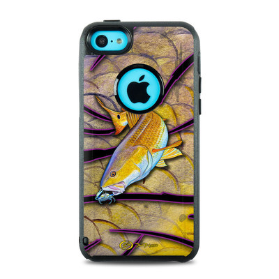 OtterBox Commuter iPhone 5c Case Skin - Red Fish
