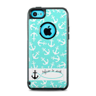 OtterBox Commuter iPhone 5c Case Skin - Refuse to Sink