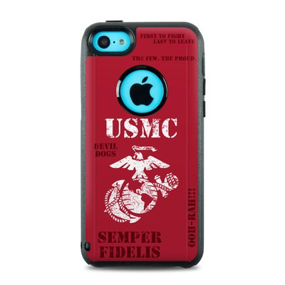 OtterBox Commuter iPhone 5c Case Skin - Semper Fi