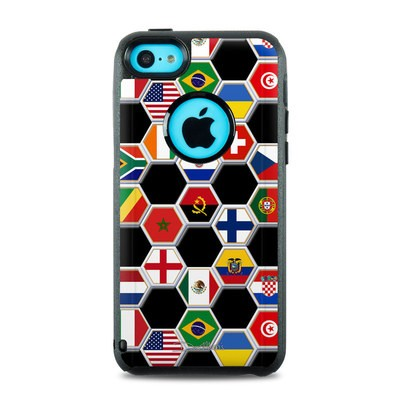 OtterBox Commuter iPhone 5c Case Skin - Soccer Flags