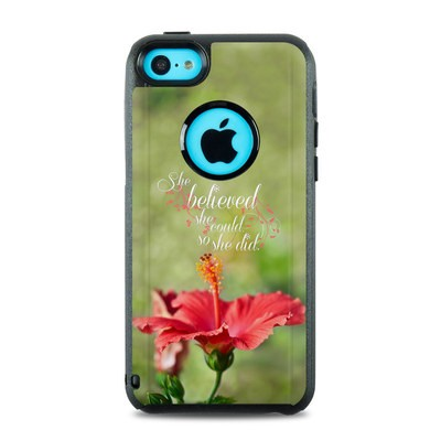 OtterBox Commuter iPhone 5c Case Skin - She Believed