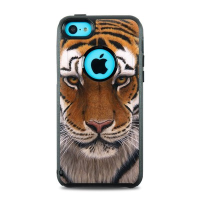 OtterBox Commuter iPhone 5c Case Skin - Siberian Tiger