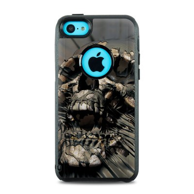 OtterBox Commuter iPhone 5c Case Skin - Skull Wrap
