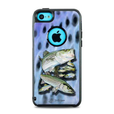 OtterBox Commuter iPhone 5c Case Skin - Striped Bass
