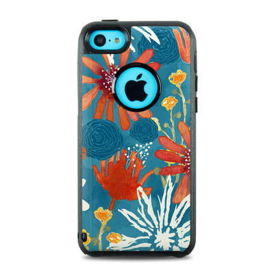 OtterBox Commuter iPhone 5c Case Skin - Sunbaked Blooms