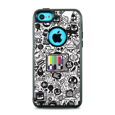 OtterBox Commuter iPhone 5c Case Skin - TV Kills Everything