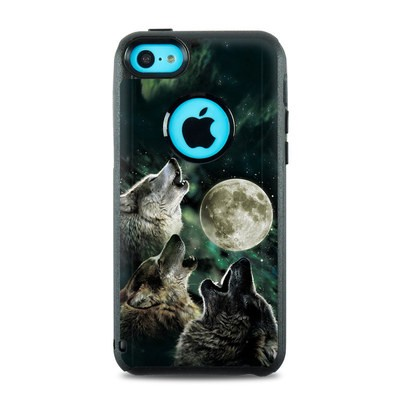 OtterBox Commuter iPhone 5c Case Skin - Three Wolf Moon