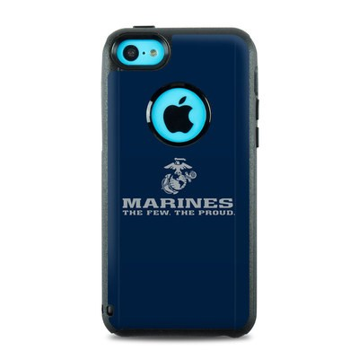 OtterBox Commuter iPhone 5c Case Skin - USMC Blue