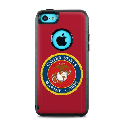 OtterBox Commuter iPhone 5c Case Skin - USMC Red