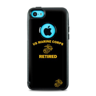 OtterBox Commuter iPhone 5c Case Skin - USMC Retired