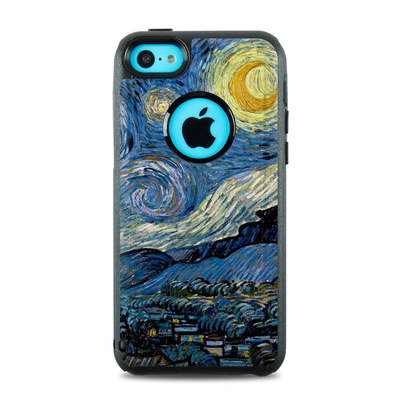 OtterBox Commuter iPhone 5c Case Skin - Starry Night