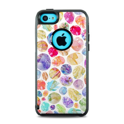 OtterBox Commuter iPhone 5c Case Skin - Watercolor Dots