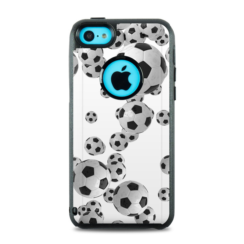 iphone 5c otterbox cases otterbox commuter iphone 5c skin lots of soccer 14684