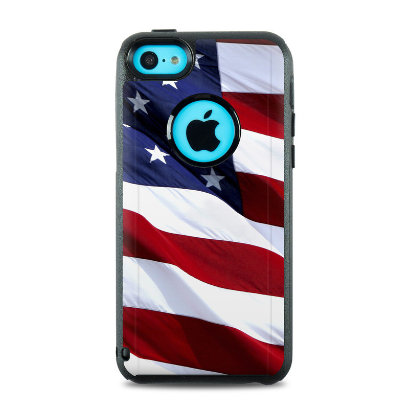 OtterBox Commuter iPhone 5c Case Skin - Patriotic by Flags ...