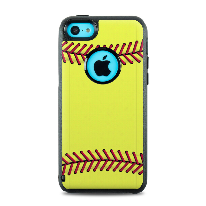 san francisco 2ebe1 3463e OtterBox Commuter iPhone 5c Case Skin - Softball