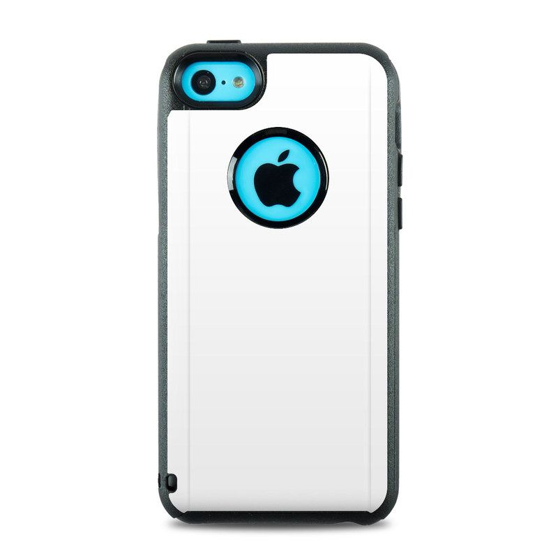 otterbox iphone 5c case otterbox commuter iphone 5c skin solid state white 15816
