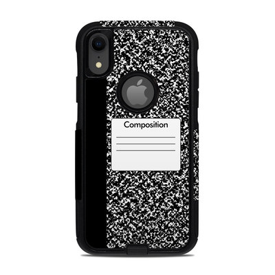 OtterBox Commuter iPhone XR Case Skin - Composition Notebook