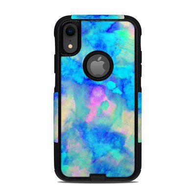 OtterBox Commuter iPhone XR Case Skin - Electrify Ice Blue