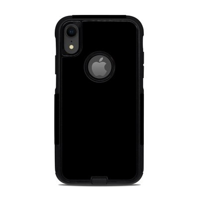 OtterBox Commuter iPhone XR Case Skin - Solid State Black