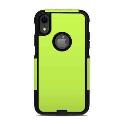 OtterBox Commuter iPhone XR Case Skin - Solid State Lime