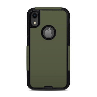 OtterBox Commuter iPhone XR Case Skin - Solid State Olive Drab