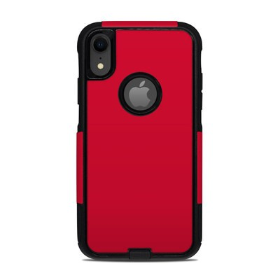 OtterBox Commuter iPhone XR Case Skin - Solid State Red
