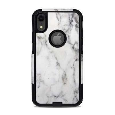 OtterBox Commuter iPhone XR Case Skin - White Marble