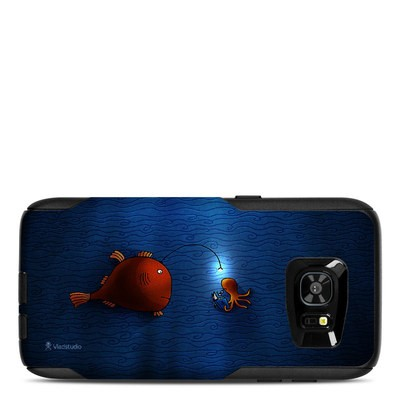 OtterBox Commuter Galaxy S7 Edge Case Skin - Angler Fish