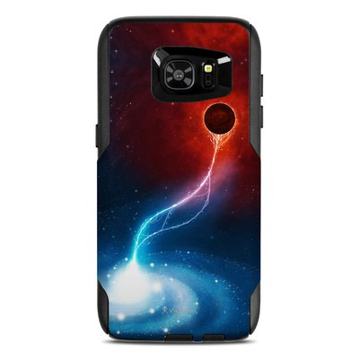 OtterBox Commuter Galaxy S7 Edge Case Skin - Black Hole