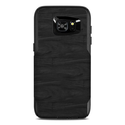 OtterBox Commuter Galaxy S7 Edge Case Skin - Black Woodgrain