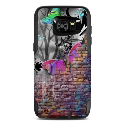 OtterBox Commuter Galaxy S7 Edge Case Skin - Butterfly Wall