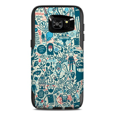 OtterBox Commuter Galaxy S7 Edge Case Skin - Committee