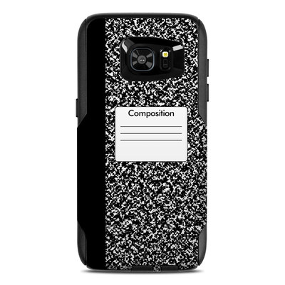 OtterBox Commuter Galaxy S7 Edge Case Skin - Composition Notebook